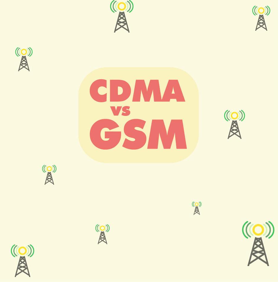CDMA vs GSM cover image