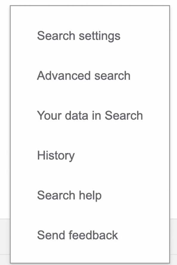 Google SafeSearch feature