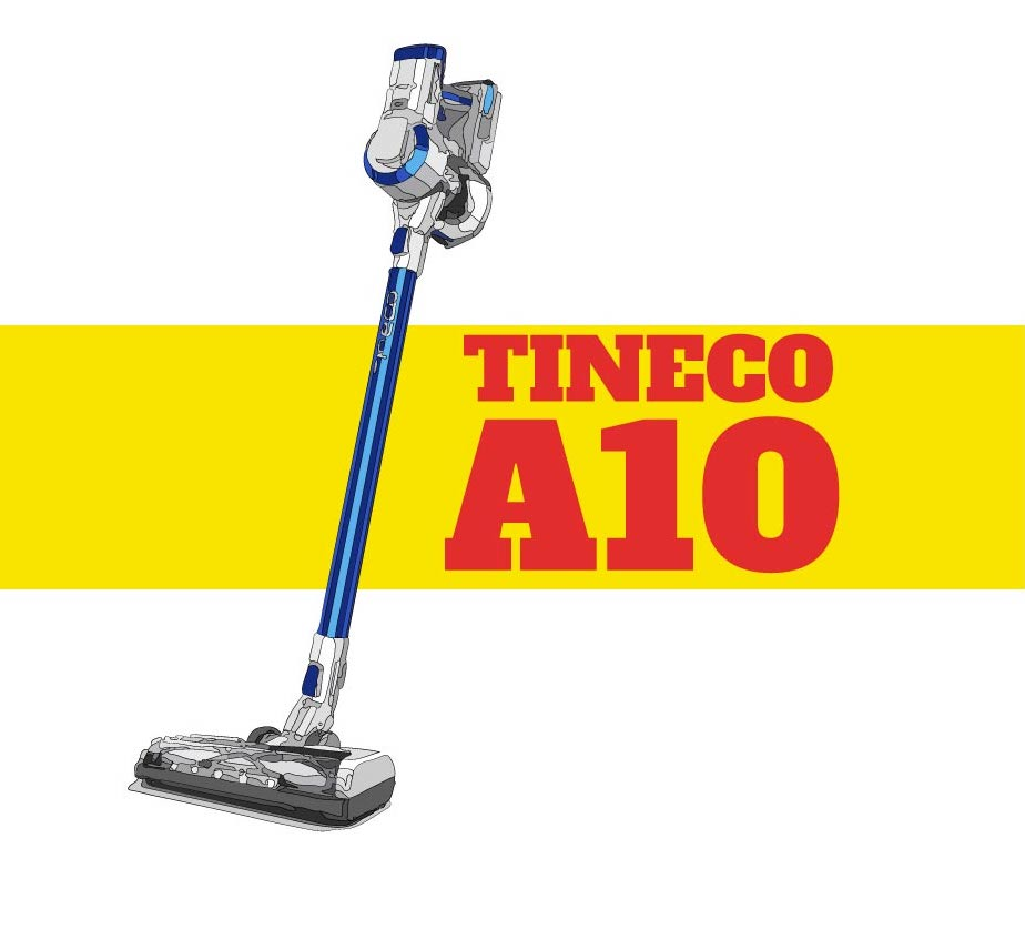 Tineco A10 illustration