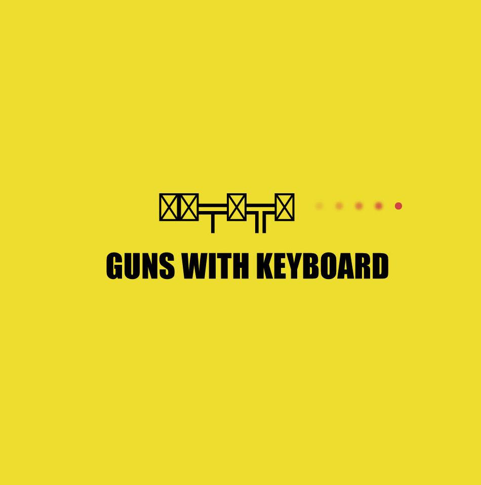 How to make gun using keyboard symbols cover image