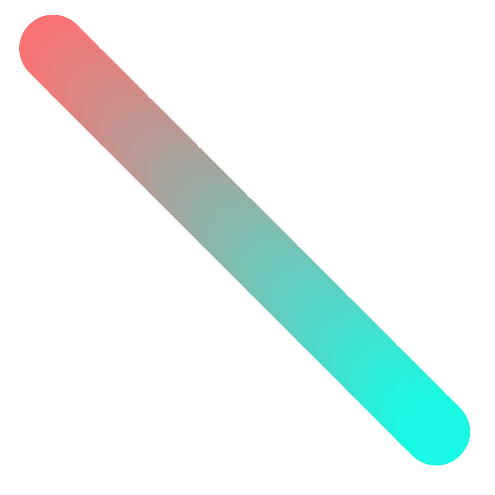 using blend tool to create a color gradient