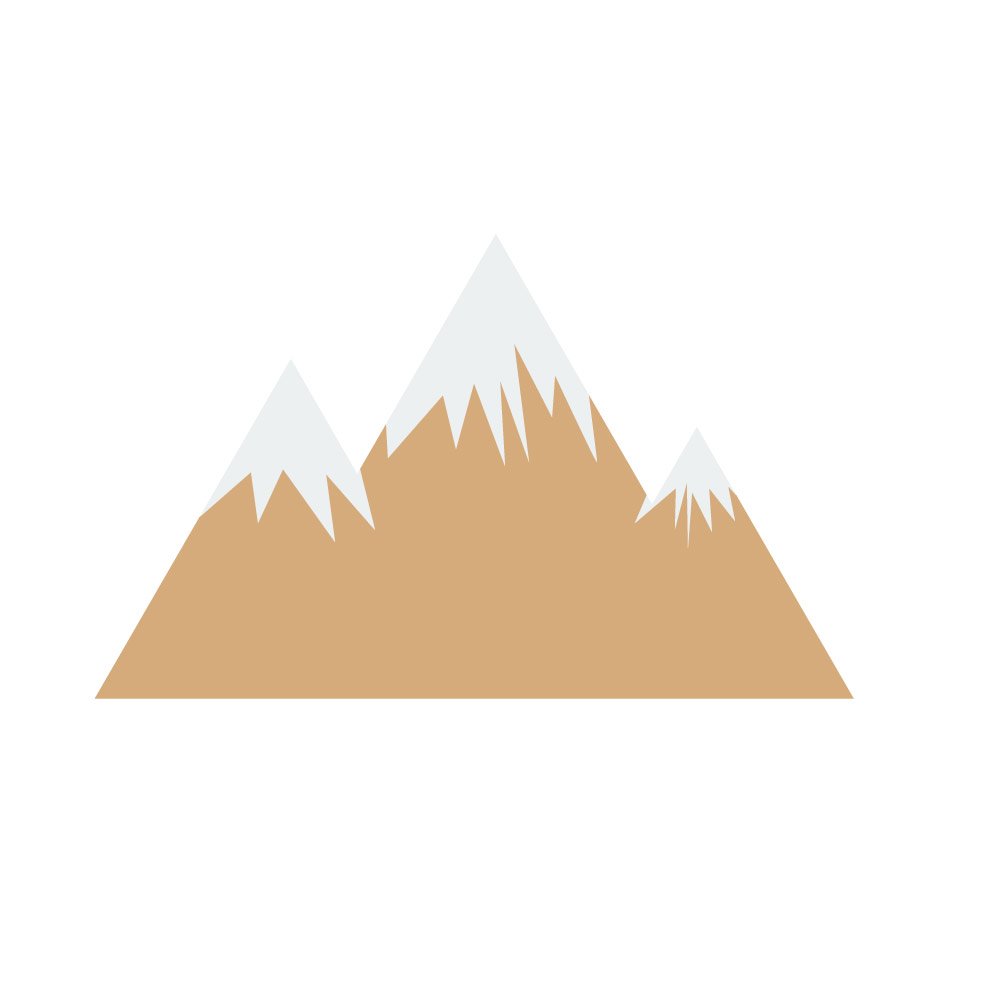 Illustration of a mountain