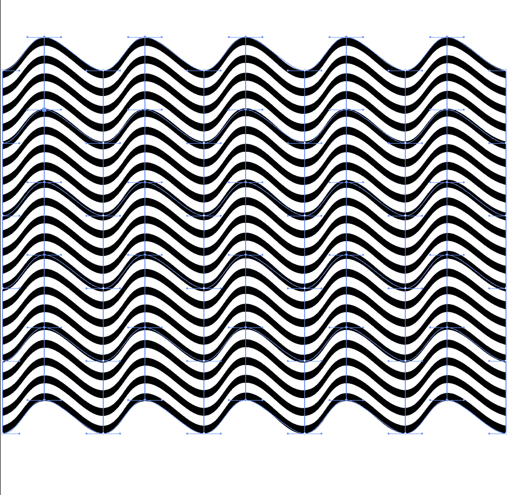 distorting the stripes