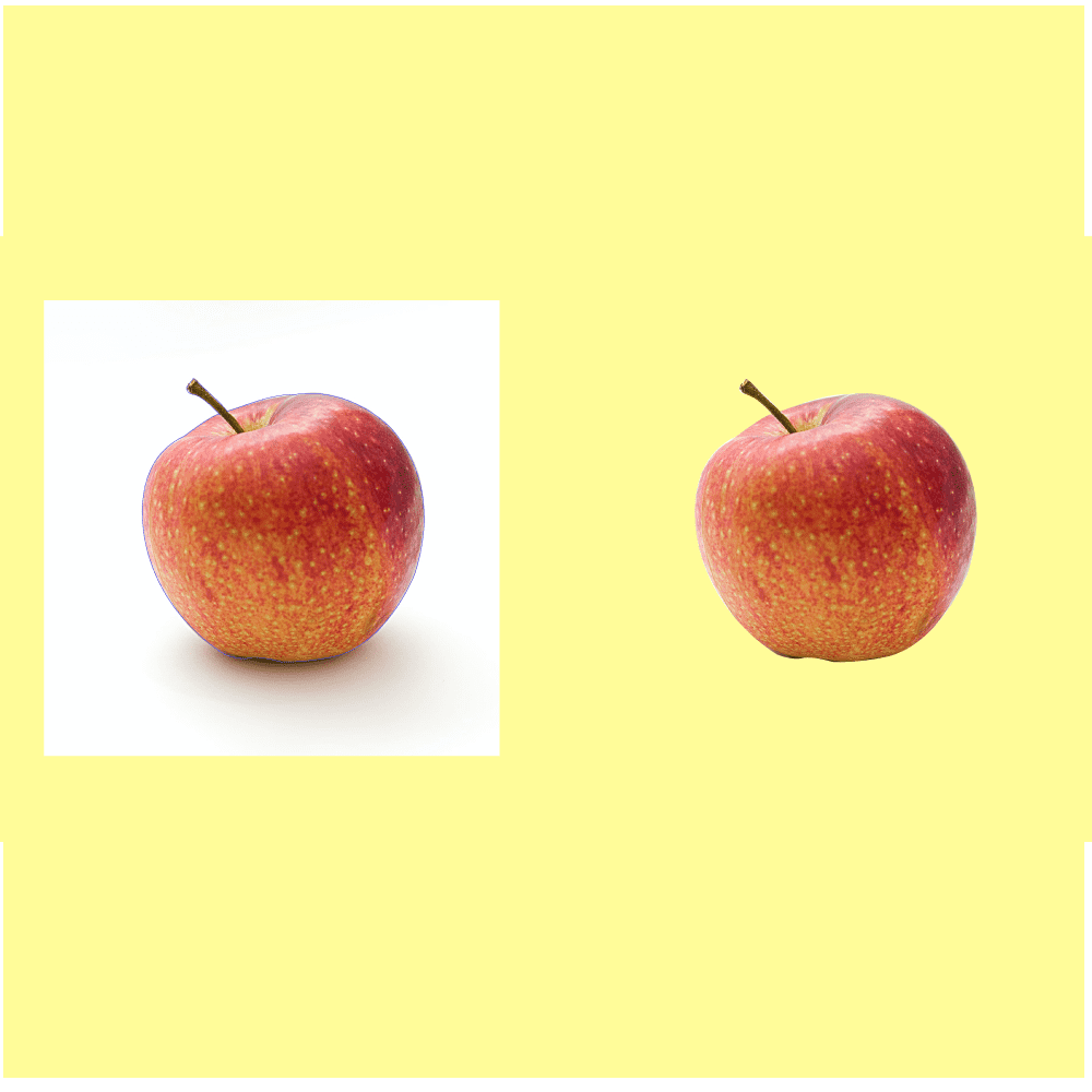 How to remove background in illustrator cover image