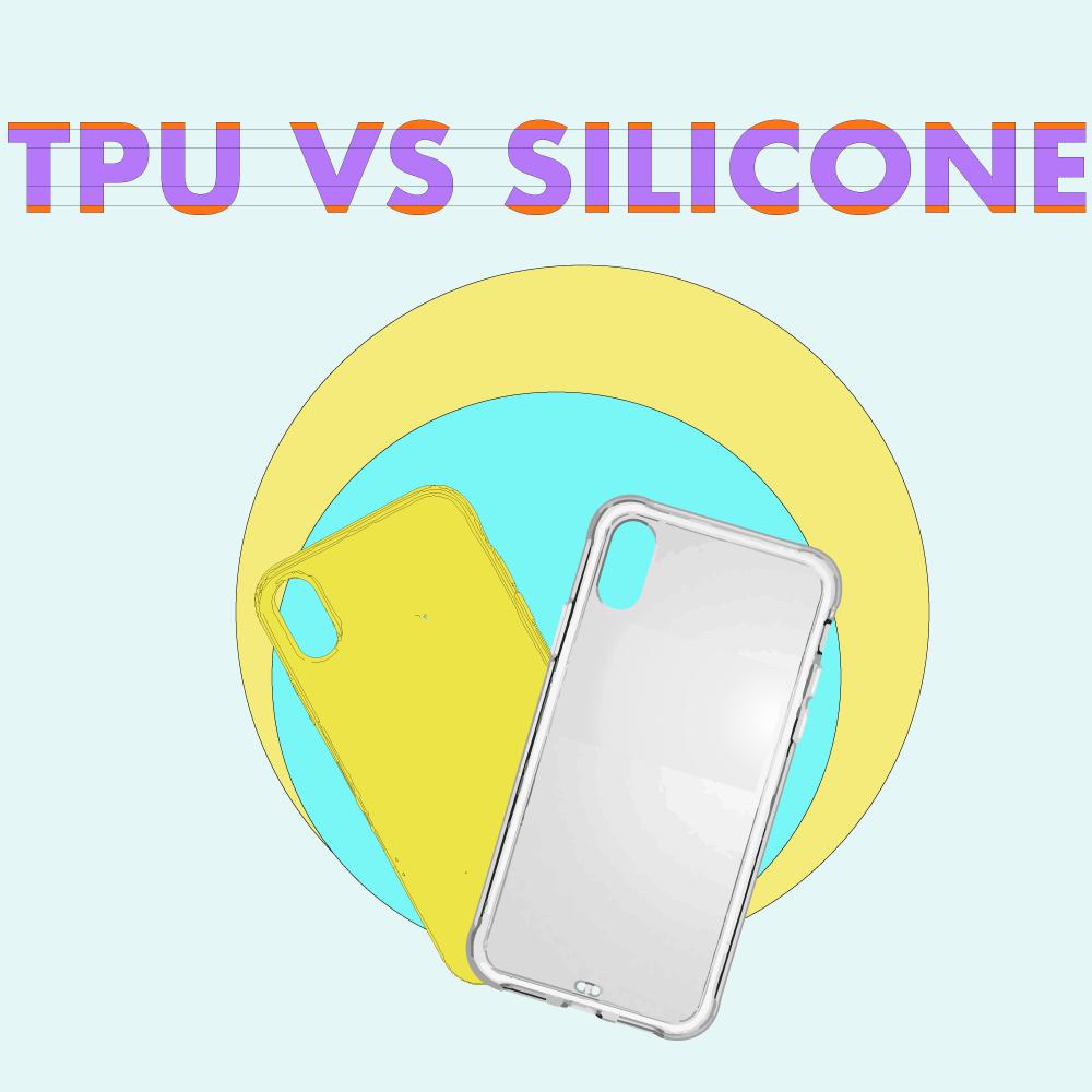 TPU material vs silicone cover image