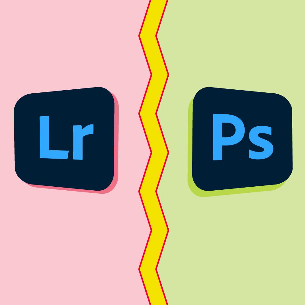 Adobe Lightroom vs Photoshop cover image