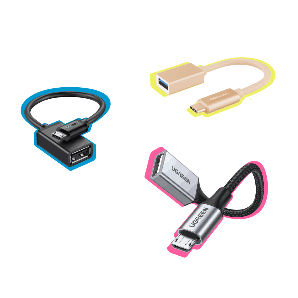 Image of some OTG cables