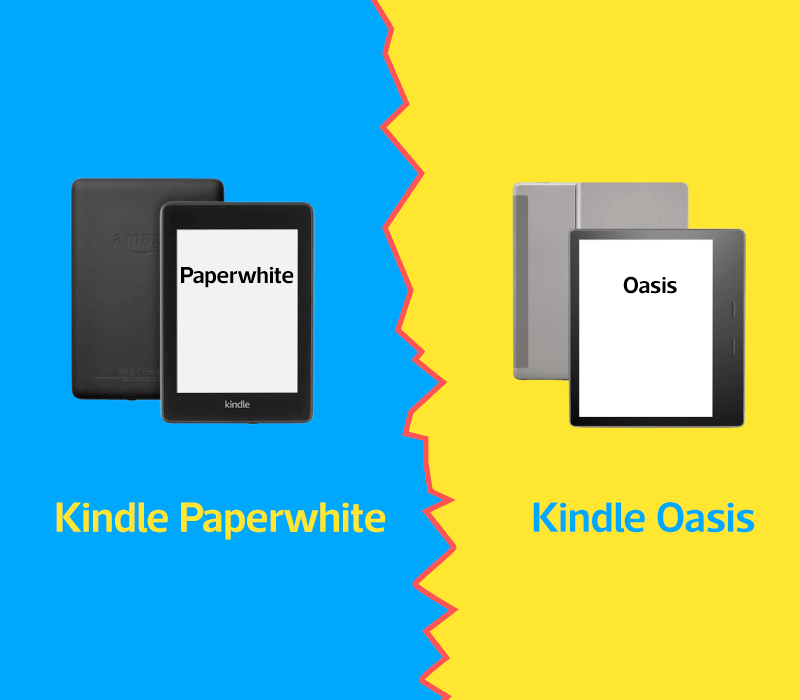Kindle Oasis vs Paperwhite cover image